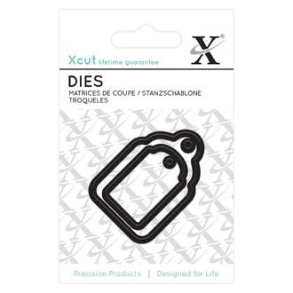DOCRAFTS - Mini dies étiquettes