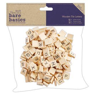 DOCRAFTS - Lettres carrées 200 pièces