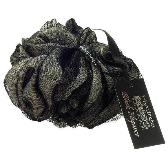 Fleur de douche noir et écru