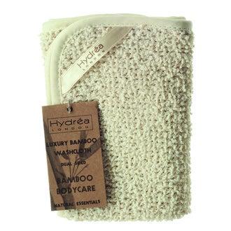 Lingette nettoyante en bambou et coton
