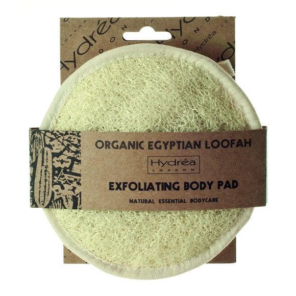 Disque exfoliant en loofah et coton