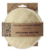 Achat en ligne Disque exfoliant en loofah et coton