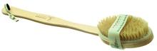 Achat en ligne Brosse de bain pour le dos en bois de hêtre et crin naturel