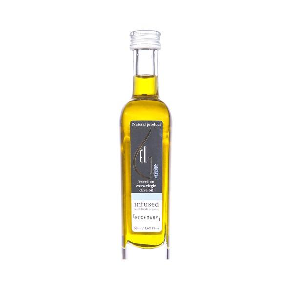 Huile d'olive infusée romarin bio 50ml