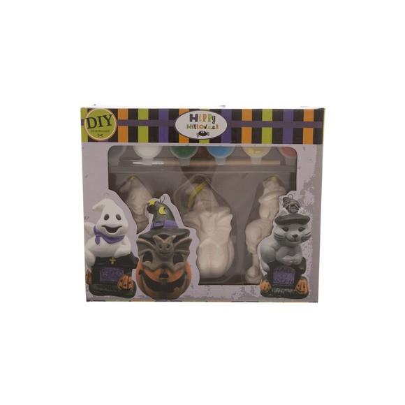 Décoration Halloween Figurine à Peindre à Suspendre Pas Cher Zôdio