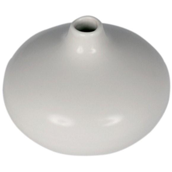 Vase bouquet parfumé blanc 11x8cm