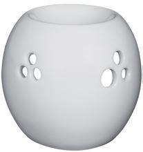 Achat en ligne Brûle-parfum boule ajourée blanc