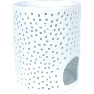 Brûle-parfum ruche blanc