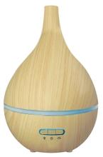 Achat en ligne Diffuseur huiles essentielles bois lumineux en forme poire