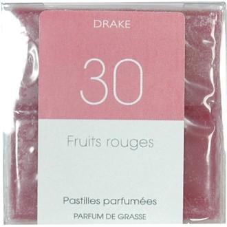 4 carrés fondants fruits rouges