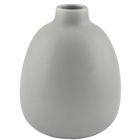 Vase bouquet parfumé mangue gris mat