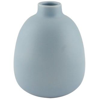 Vase bouquet parfumé mangue bleu mat