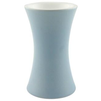 Brûle-parfum diabolo bleu mat