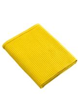 Achat en ligne Serviette de bain 90x150cm en coton nid d'abeille moutarde