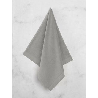 Serviette de douche 70x140cm en coton éponge cendre
