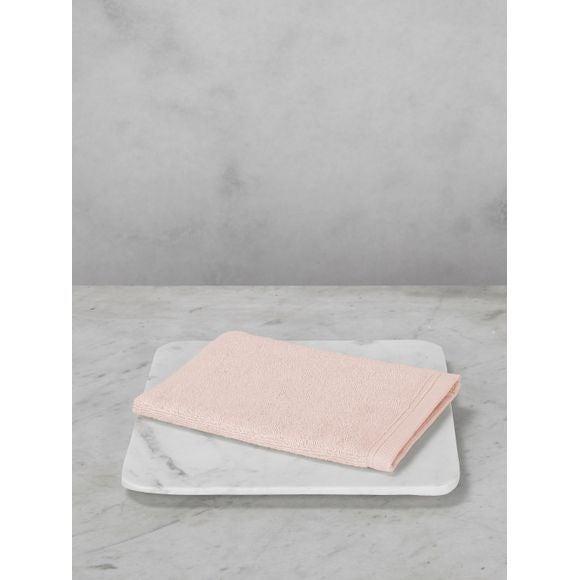 Guanto da bagno in cotone rosa