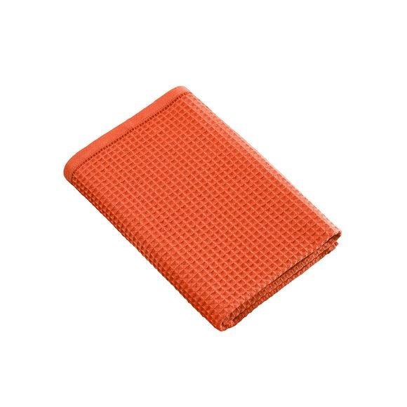 Achat en ligne Serviette de douche 70x140cm en coton nid d'abeille corail