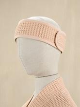 Achat en ligne Bandeau de cheveux en coton nid d'abeille nude