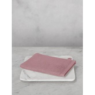 MAOM - Gant de toilette en coton éponge bouton de rose