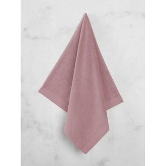 MAOM - Serviette de douche en coton éponge bouton de rose 70x140cm