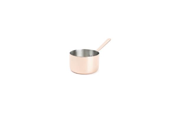 Achat en ligne mini casserole à servir en cuivre