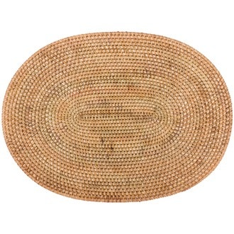 Set de table oval naturel 30x40 cm