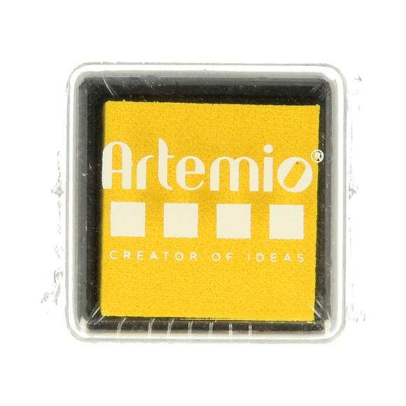 Achat en ligne Encreur embossable jaune canari 3x3cm