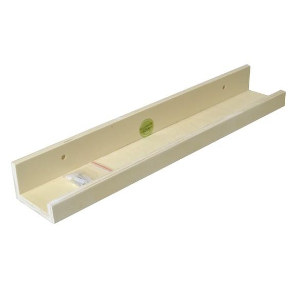 Achat en ligne Etagère bois brut avec 3 vis 50x9x6cm