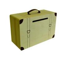 Achat en ligne Urne valise à décorer en bois 35x23X15cm
