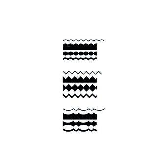 ARTEMIO - Set de ciseaux crantés lame interchangeable