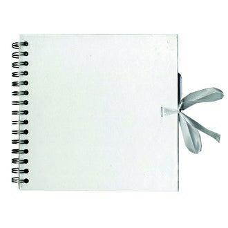 ARTEMIO - Album en kraft 40 pages blanc 20x20cm