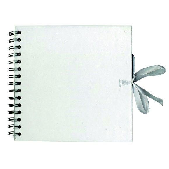 acquista online Album carta kraft 40 pagine bianco 20x20cm