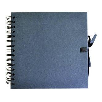 ARTEMIO - Album en kraft 40 pages noir 20x20cm