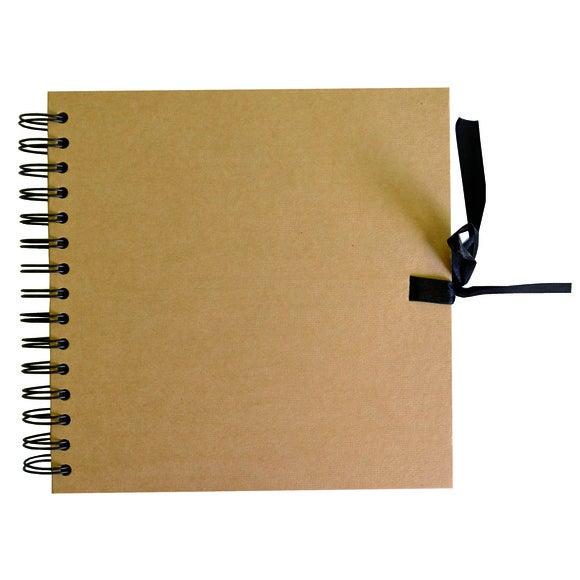 Album in carta kraft 40 pagine 20x20cm