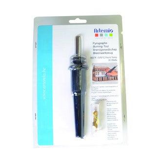 ARTEMIO - Pyrograveur avec 5 pointes interchangeables sur pas de vis 30 watt, 240 volts - Pyrograveur avec 5 pointes interchangeables sur pas de vis 30 watt