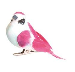 Achat en ligne Set 3 oiseaux pinces à accrocher couleurs assorties 9x4,5cm