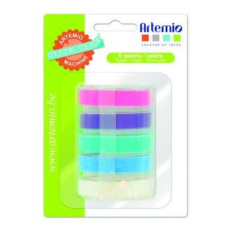 5 rubans pr click-click pastel
