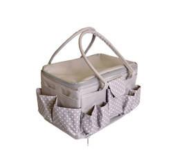 Achat en ligne Sac rangement boite couture gris