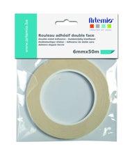 Achat en ligne Bande adhesive double face 6mmx50m