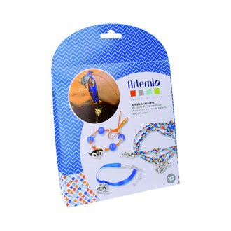 ARTEMIO - Kit créatif bracelet bleu
