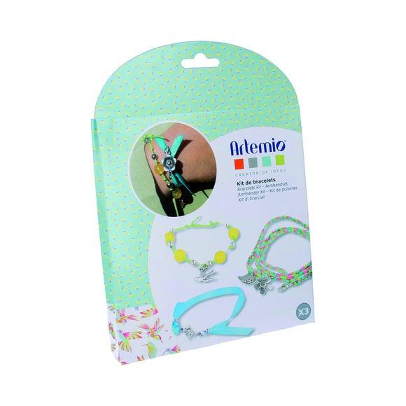 Kit créatif bracelet vert