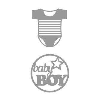 ATEMIO - Dies baby boy Body 2 pièces