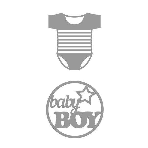 Dies baby boy Body 2 pièces
