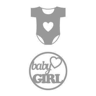 ATEMIO - Dies baby girl Body 2 pièces