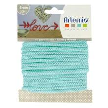 Achat en ligne Fil tricotin polyester vert pastel 5mmx5m