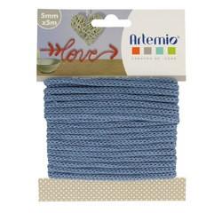 Achat en ligne Fil tricotin polyester bleu 5mmx5m