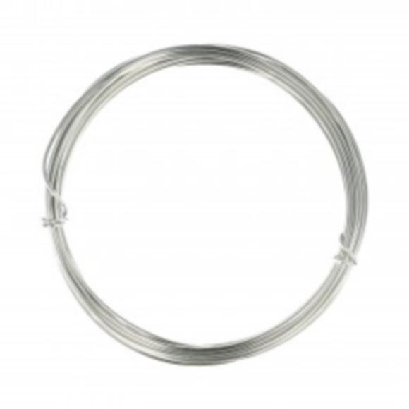 Fil en aluminium pour tricotin 1,5mm x 5m