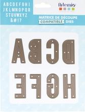 Achat en ligne Dies Alphabet 48mm