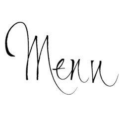 Achat en ligne Tampon menu