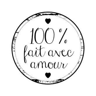ARTEMIO - Tampon bois rond 100% fait avec amour